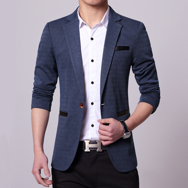 new men singers Fashion dress suit jacket brand clothing large size Men's casual suits Korean Western singers dress