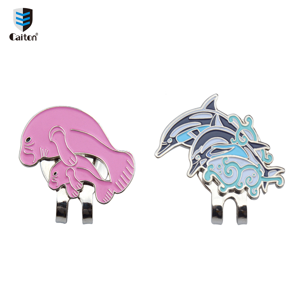 Image 5 - Caiton Cute animal Golf Ball Markers with Magnetic Hat Clip Golf Accessories-in Golf Training Aids from Sports & Entertainment