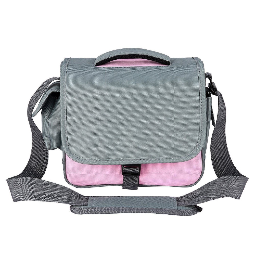 Waterproof Camera Bag Case For Canon Rebel T5i T4i T3i T2i EOS 700D 650D 600D 550D 450D 77D 80D 70D DSLR pink image