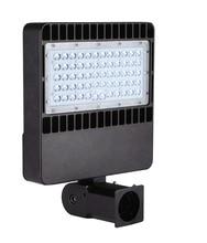 лучшая цена ETL DLC LED parking lot lighting , 100W120W/150W,LED shoe box light ,Road light,IP65,100LM/W, 5 years warranty,Free shipping