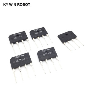 5PCS 4A 600V DIP-4 diode bridge rectifier KBJ406