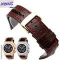 26mm marrom com pontos vermelhos de couro Genuíno pulseira strap para acessórios pulseira wathes homens AP