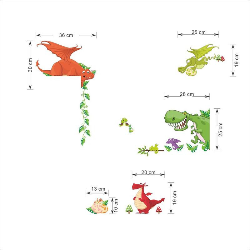 HTB1SvBmJpXXXXbFXFXXq6xXFXXXA - Cute Animal Live in Your Home DIY Wall Stickers/ Home Decor Jungle Forest Theme Wallpaper/Gifts for Kids Room Decor Sticker