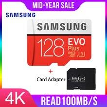 삼성 마이크로 sd 메모리 카드 128 gb evo plus class10 방수 tf memoria 스마트 폰용 sim 카드 128g original 95 메가바이트/초