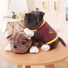 2016 new arrived  Shar Pei plush toy  creative cartoon dolls  Papa dog play house doll birthday party gift  free shipping