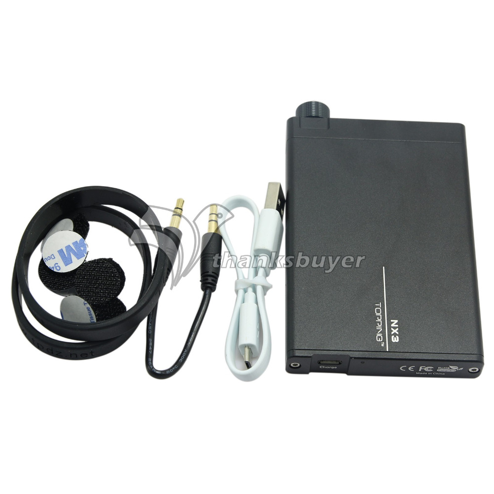 TOPPING NX3 Portable Headphone Earphone Amplifier HIFI Stereo Audio Amp Chip TPA6120A2