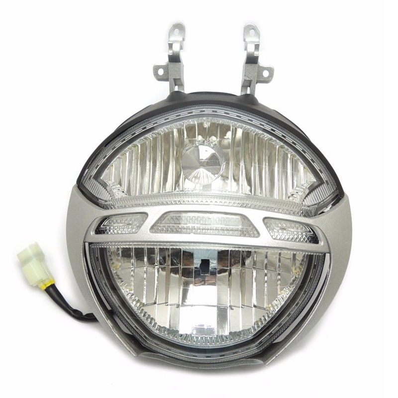 For Ducati Monster 696 659 795 796 1000 1100/S Motorcycle Front Headlight Head Light Lamp Headlamp Assembly CLEAR motocycle accessories for ducati monster 659 696 796 1100 s alternator cover black