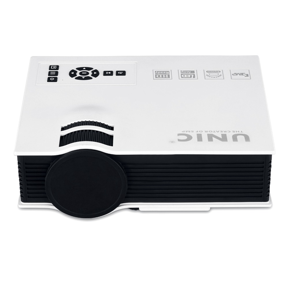 Hot sale! Hot sale Unic UC40 Projector Mini Pico Portable Proyector Multimedia Projector AV/USB/SD/HDMI Projector With Free HDMI