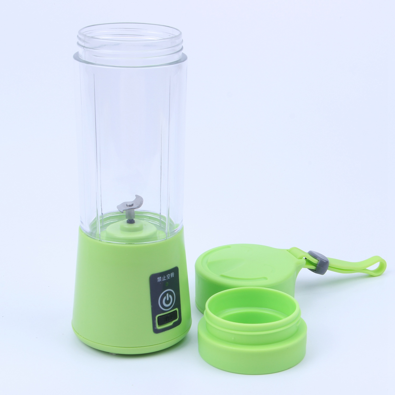 380ML Blender USB Charging Mode Portable Small Juicer Extractor Household Whisk Fruits Mixer Juice Machine Smoothie Maker 4