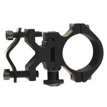 Акция Охотничья винтовка кронштейн для оптического прицела держатель Поддержка прицела Кольцо фонарик зажим 25,4 мм кольцо Вивер рейка