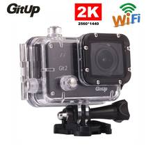 Gitup Git2 Pro Sports Camera HD 1080P Waterproof Mini Action Cam 2K 30fps Wifi Outdoor Kamera 1.5 in LCD Screen Sport Camcorder