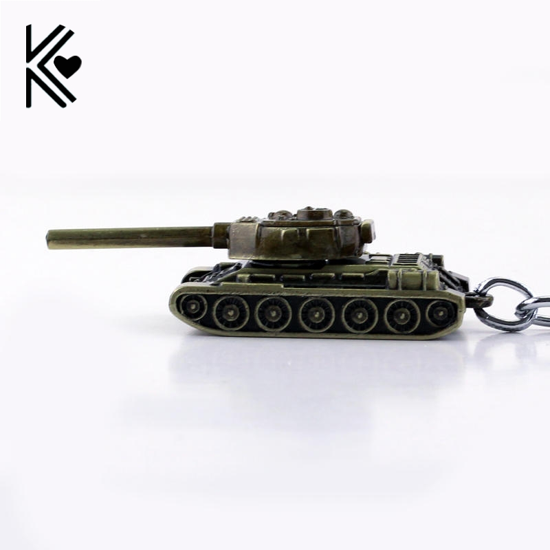 3D World of Tanks Key chain Metal Key Rings For Gift Chaveiro Car Keychain Jewelry Game Key Holder Souvenir