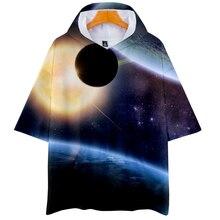 LUCKYFRIDAYF K-pop Starry sky Suicide Squad Short Sleeve Hoodies Sweatshirts Harajuku Women/Men Hip Hop Clothes 4XL
