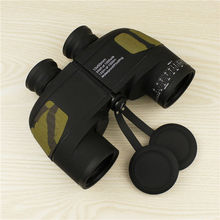 Free Shipping 2015 New arrival military outdoor high powerful optics binoculars 10×50 marine waterproof binoculars for hunting