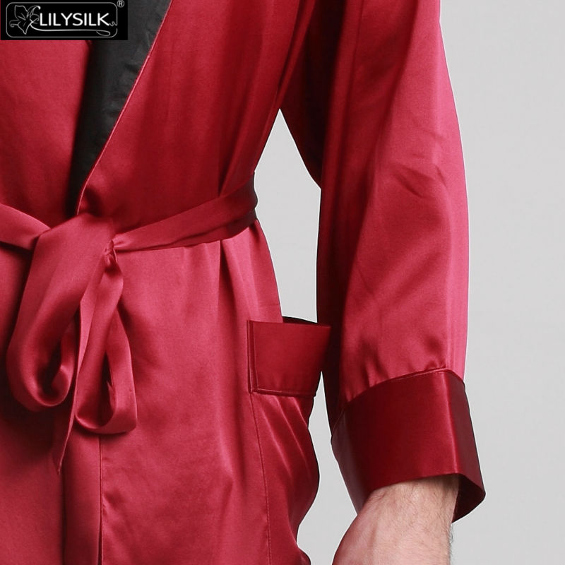 1000-claret-22-momme-black-collar-silk-dressing-gown-01