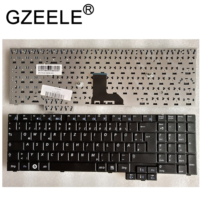 GZEELE German GR Keyboard For SAMSUNG R528 R530 NP-R528 NP-R530 NP-R540 R519 R719 NP-R719 NP-R519 R620 R517 R523 R525 KEYBOARD