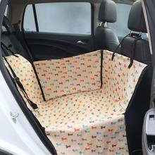 Waterproof Pet Car Seat Cover For Small Medium Dog Carrier Cat Mat Basket Pet Carrier Dog Cat Car Seat Cover Travel Accessories pet carrier dog front seat cover protector for cars 2 in 1 carrier for dogs folding cat car booster seat cover anti slip carrier
