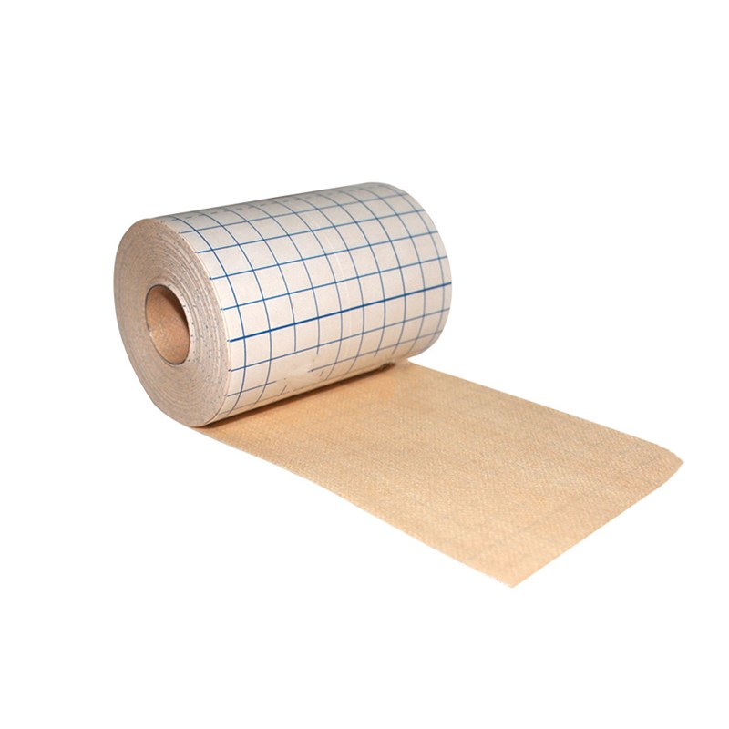 1 Roll Medical Non-woven Tape Adhesive Plaster Breathable Anti-allergic Medicinal Wound Dressing Fixation Tape Patches Bandage