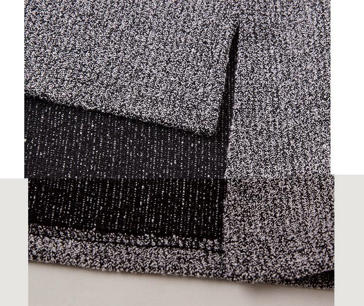 split large size sweaters women 6XL asymmetrical long sleeve 2017 - Women's Clothing - Photo 4