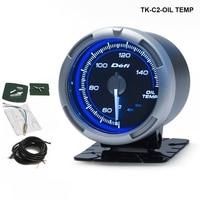 Tansky DF Link Meter ADVANCE C2 Oil Temperature Gauge Blue TK C2 OIL TEMP