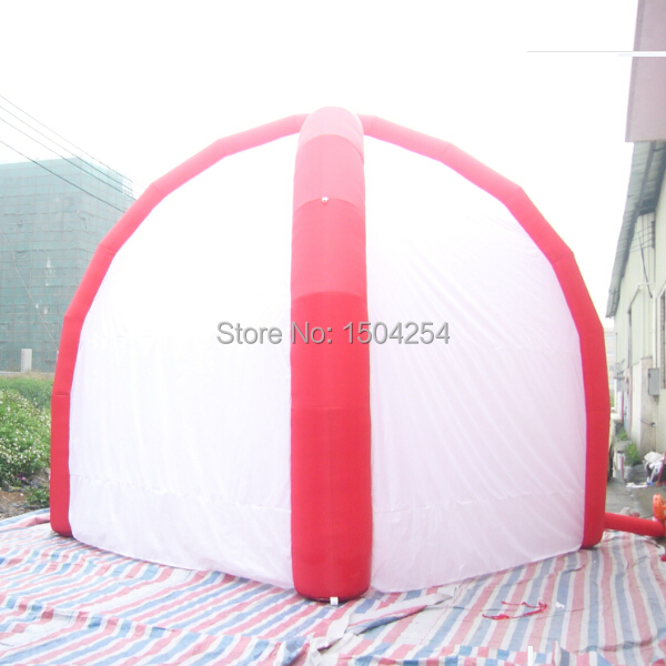 где купить Free shipping inflatable dome tent  for advertising promotion,trade show toy tent по лучшей цене