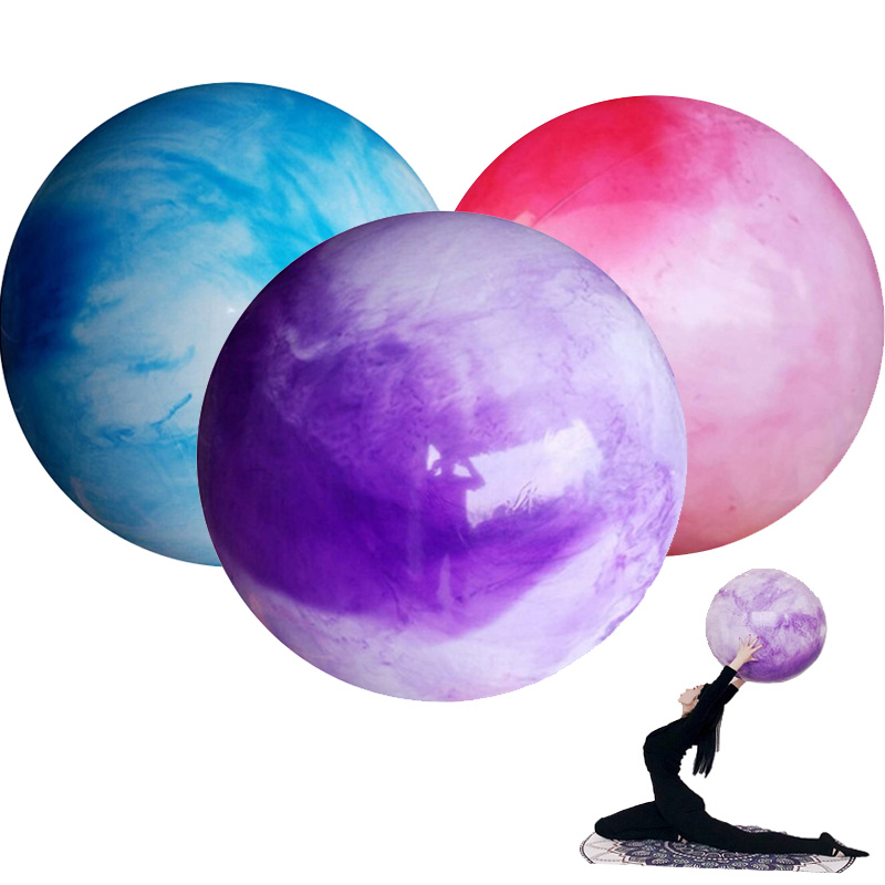 Yoga Balls Thicker Clouds color Pilates Fitness Gym Balance Fitball Exercise Workout Ball 55CM 65CM 75CM