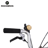 Rockbros Bicycle Bell Bike Cycling Handlebar Bell Bicycle Alarm Retro Style Steel Ring Loud Sound Horns