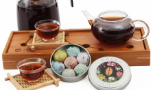 Arrival Hot Seeling Scented Tea Pure Flower Tea 7 Kinds Tuo Puerh Tea Slimming Puer Ripe