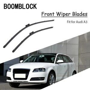 2x Auto Car Original Windshield Soft Rubber Wiper Blade Refit For Audi A3 8V 8P 8L 2017 2016 1999-2015 Audi A3 Accessories