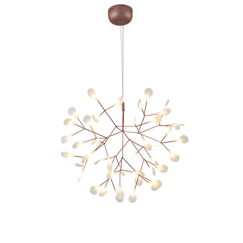 Postmodern firefly  led chandelier home decoration lighting with LED bulbs living room light free shipping firefly