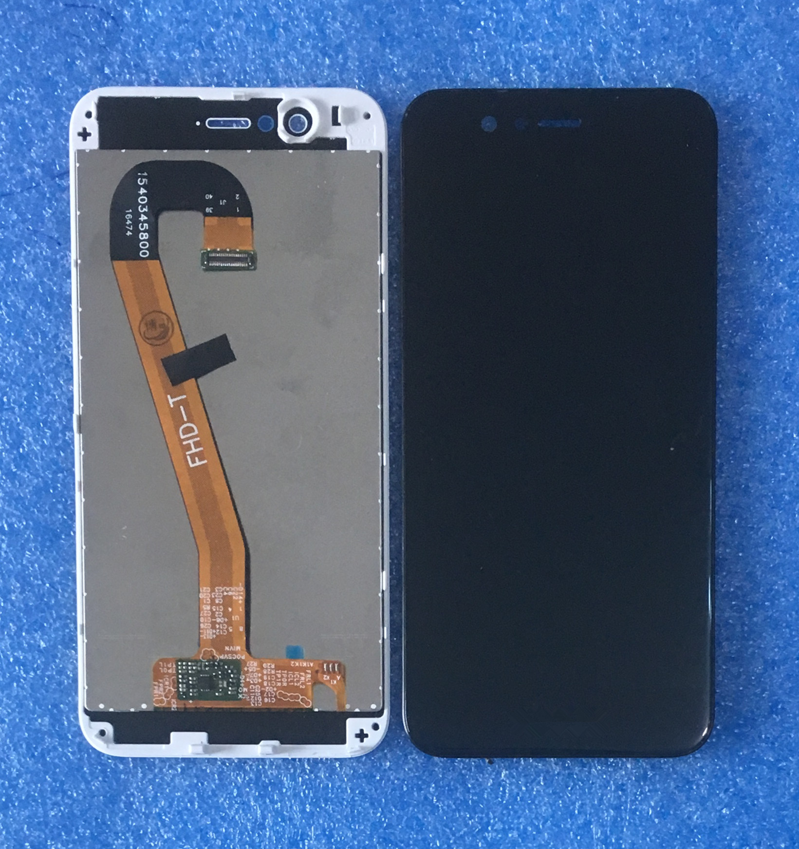 """Image 3 - Original For 5.0"""" Huawei Nova 2 PIC AL00 PIC TL00 PIC LX9 Axisinternational LCD Screen Display With Frame+Touch Panel Digitizer-in Mobile Phone LCD Screens from Cellphones & Telecommunications"""