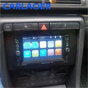 Image 2 - Auto 2 DIN Fascia Panel Platte Rahmen Für AUDI A4 (B6) A4 (B7) SEAT Exeo Stereo Fascia Dash Trim Installation Rahmen Kit