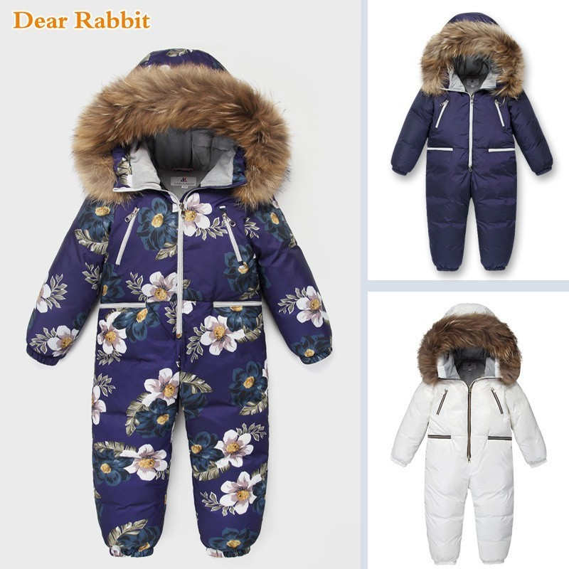 -30 Russian Winter coat Snowsuit 2019 90% Duck Down Jacket Infant Clothes Girls clothing Climbing For Boys Kids Jumpsuit 4~10y-30 Russian Winter coat Snowsuit 2019 90% Duck Down Jacket Infant Clothes Girls clothing Climbing For Boys Kids Jumpsuit 4~10y