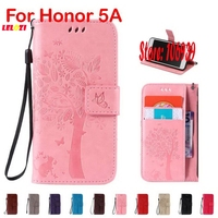 Fashion New Cute Deluxe Tree Leaf Flower Cat Butterfly PU Leather Lather Wallet Case For Huawei