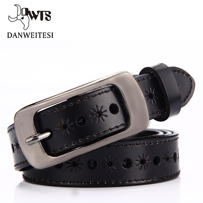 [DWTS] New Women x27s   belts   Fashion Wide Genuine Leather   Belt   Woman Luxury Jeans Female designer   belts   Straps Ceinture Femme