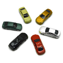 Teraysun High quality 1/75 architectural plastic scale model car miniature cars for making layout
