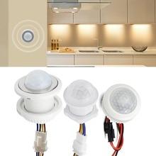 Kitchen Hallway PIR Sensor Detector Smart Switch Adjustable Time Delay 110V 220V PIR Infrared Motion Sensor Switch Light Switch