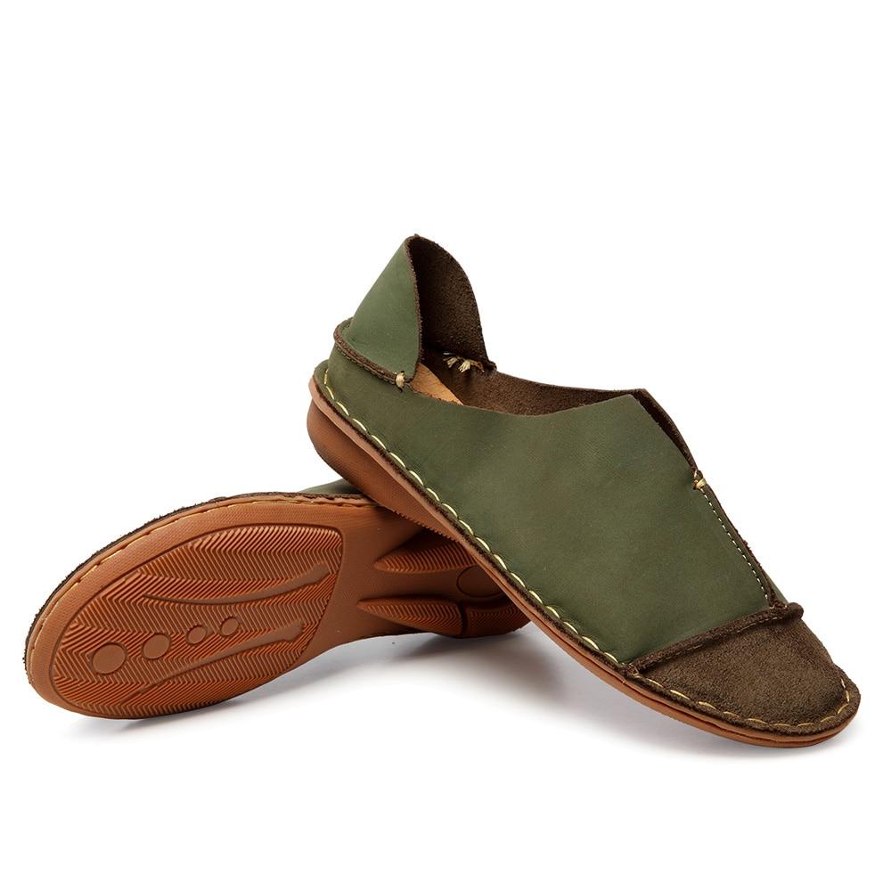 Piqu Damen Slipper Leder echtem aus Schuhe Ceyaneao 2018 vNOnm80w