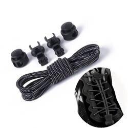 Без галстука шнурки Растяжка блокировки кружева фиксирующий башмак шнурки эластичные тапки детское шнурки работает/бег/Триатлон