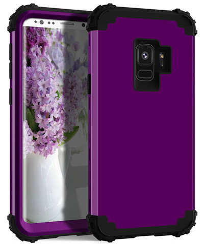 Heavy Duty Hybrid Case For Samsung Galaxy S9 S9Plus Shockproof Armor Rugged Case Cover Hard PC + Soft Rubber Silicone Phone Case (17)