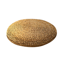 Handmade Straw Floor Cushions Large Tatami Futon Meditation Cushion Braid Thickening Yoga Circle Japanese style