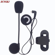 Microphone Headphone Speaker & Clip Accessories Only Suit for T-COMVB TCOM-SC Bluetooth Helmet Intercom Headset BT Interphone