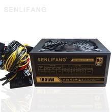 Gold POWER 1800W BTC power supply for R9 380 RX 470 RX480 6 font b GPU