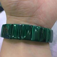 natural malachite stone beads bracelet natural stone bangle fine jewelry bracelet for woman for gift free shipping wholesale !