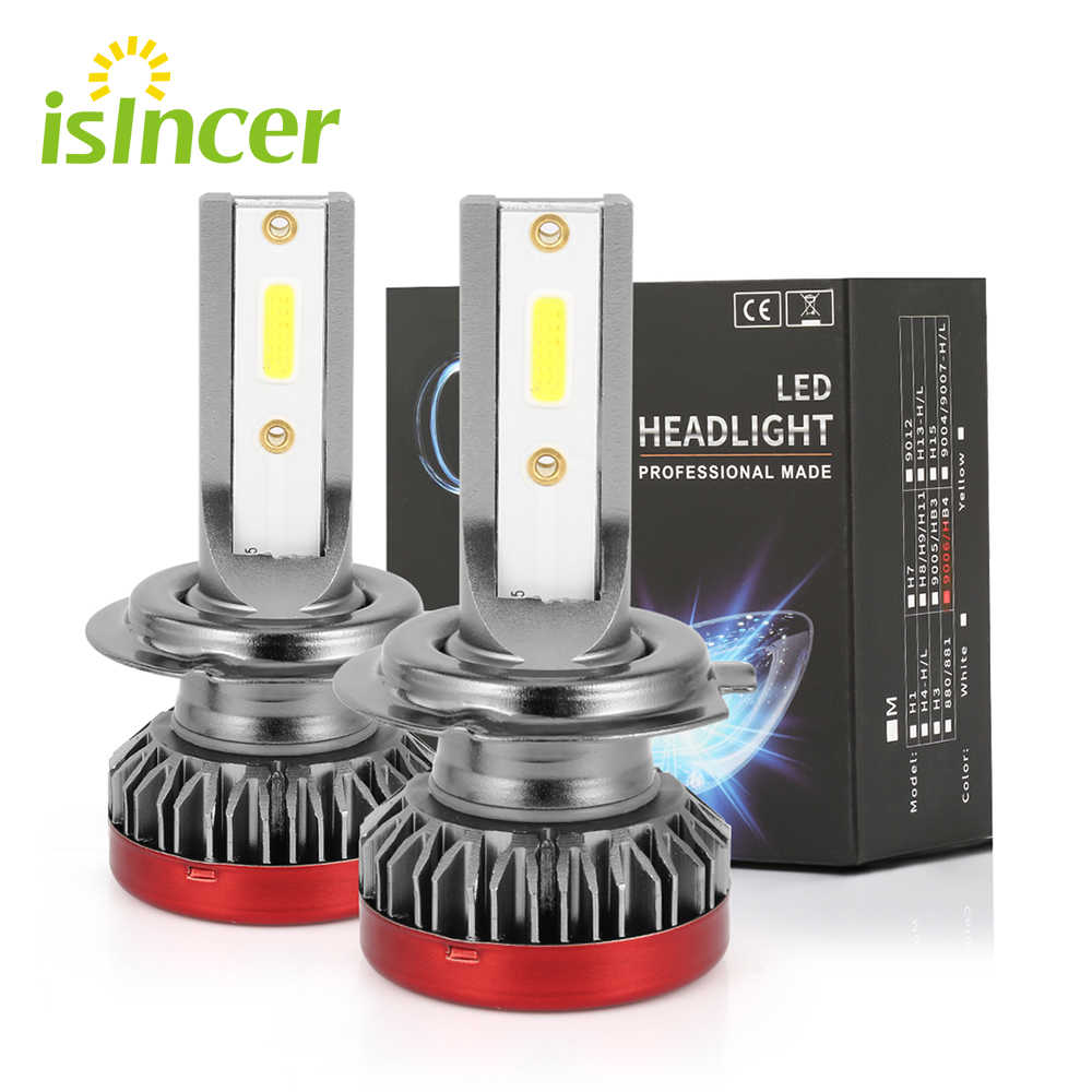 2pcs/Pair G2 Mini H1 H7 LED Car Headlight Bulbs 80W 6000K 8000LM Super Bright Auto Foglight Lamp 9005 9006 H1 H7 H11 Led Bulbs