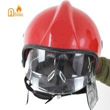 Два цвета,, устойчив к пожару на 300 градусов, пожарный спасательный шлем