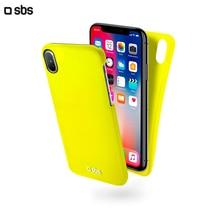 Чехол Color Feel для iPhone X, желтый, SBS