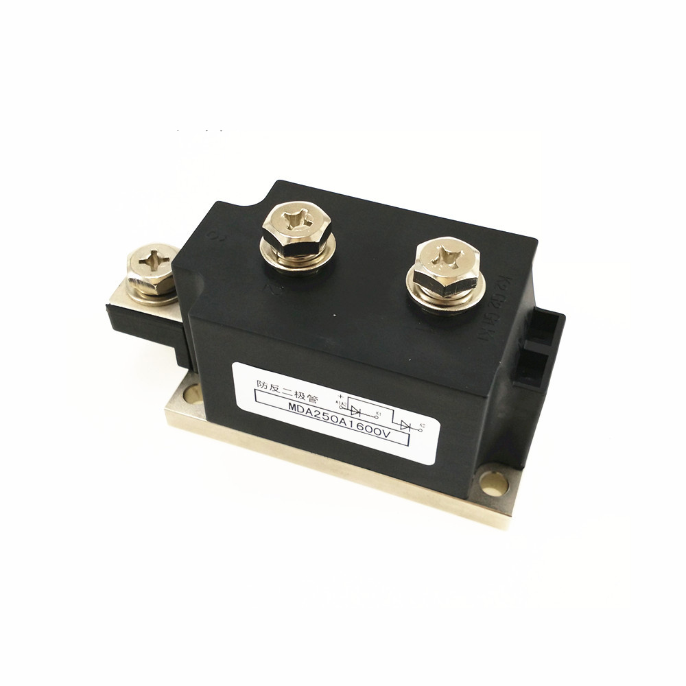 Anti-anti-diode MDA 250A 1600V Rectifier module ordinary rectifier module md 200a 1600v 250a 1600v 300a 1600v 350a1600v 400a1600v 500a 1600v