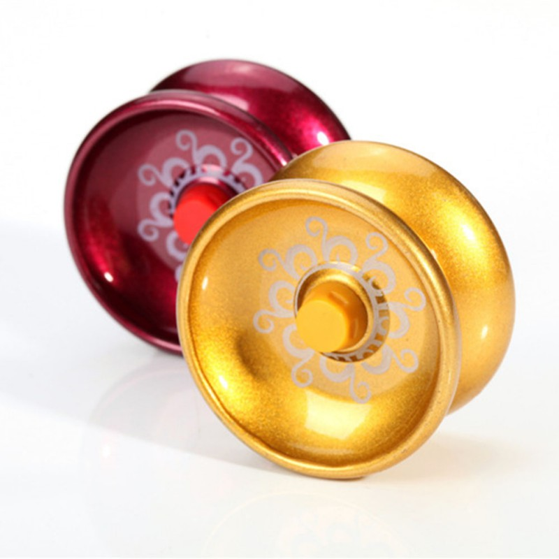 Toys & Hobbies New Fashion Magic Metal Yoyo Toy High Speed Bearings Butterfly Yo Yo With String Special Props Colorful Yo-yo Professional Toys For Children To Rank First Among Similar Products Classic Toys