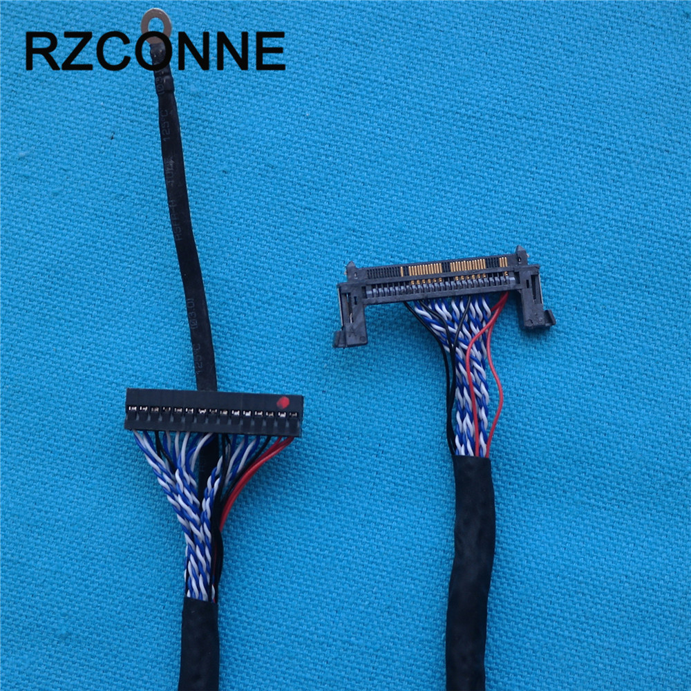 LVDS Cable FI-RE51S-HF (Left Strength) 51Pin + FI-RE51S-HF (right Authorities) 51Pin 60 Cm